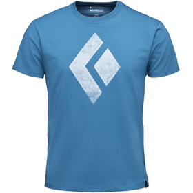 Black Diamond Chalked Up Kurzarm T-Shirt Herren astral blue
